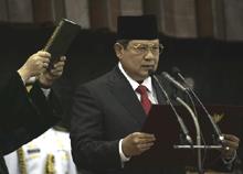 Pelantikan SBY, 20 Okt 2009