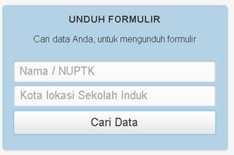 1-unduh formulir nuptk 2013