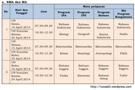 JADWAL UN 2014_SMA-MA_tunas63