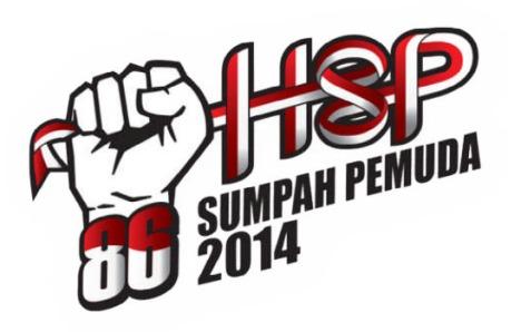 logo hari sumpah pemuda 2014
