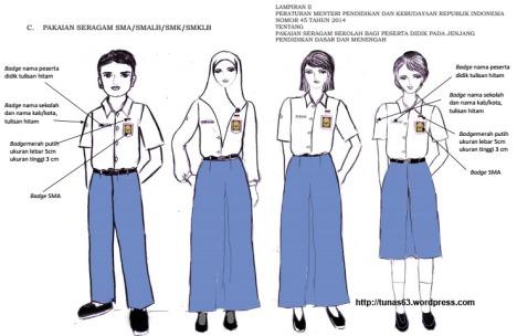 seragam SMA SMK