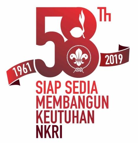 logo hari pramuka ke-58 (2019)